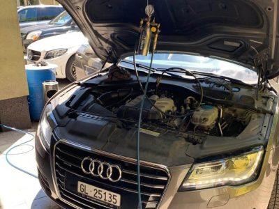 TerraClean szeleptisztítás - Audi A7 (1)