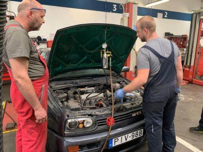 TerraClean szeleptisztítás - VW Golf 3 (1)
