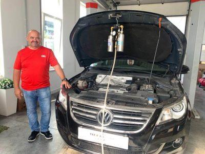 TerraClean szeleptisztítás - VW Tourag 1.4 TSI (1)